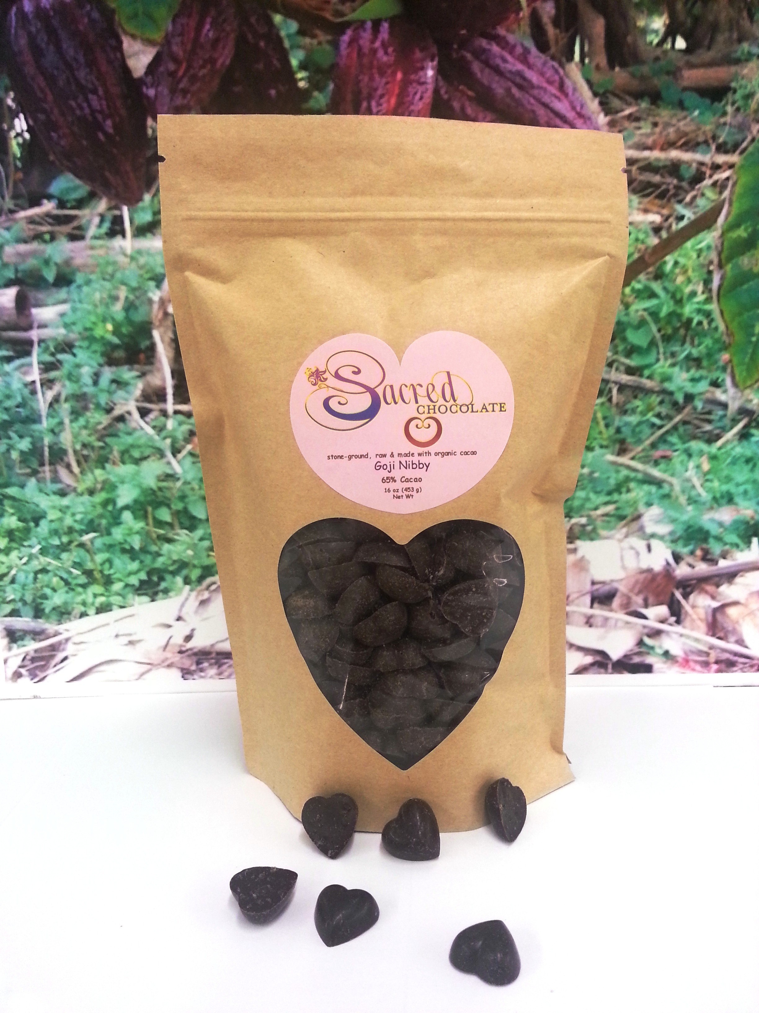 Goji Nibby Mini Hearts