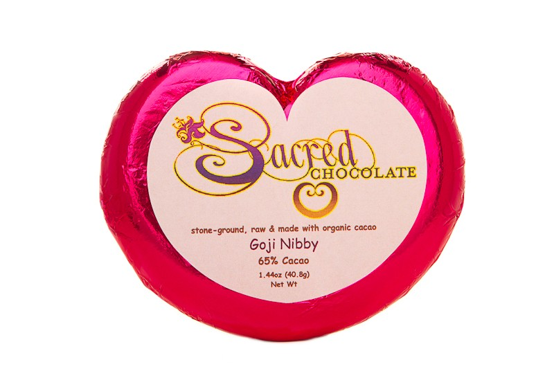 Goji Nibby 1.44oz Heart Bar