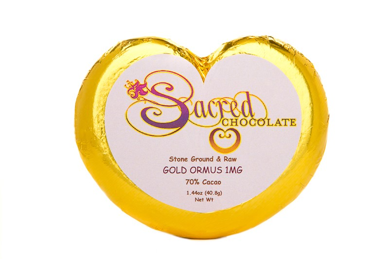 Gold Ormus 1mg Heart Bar 1.44oz