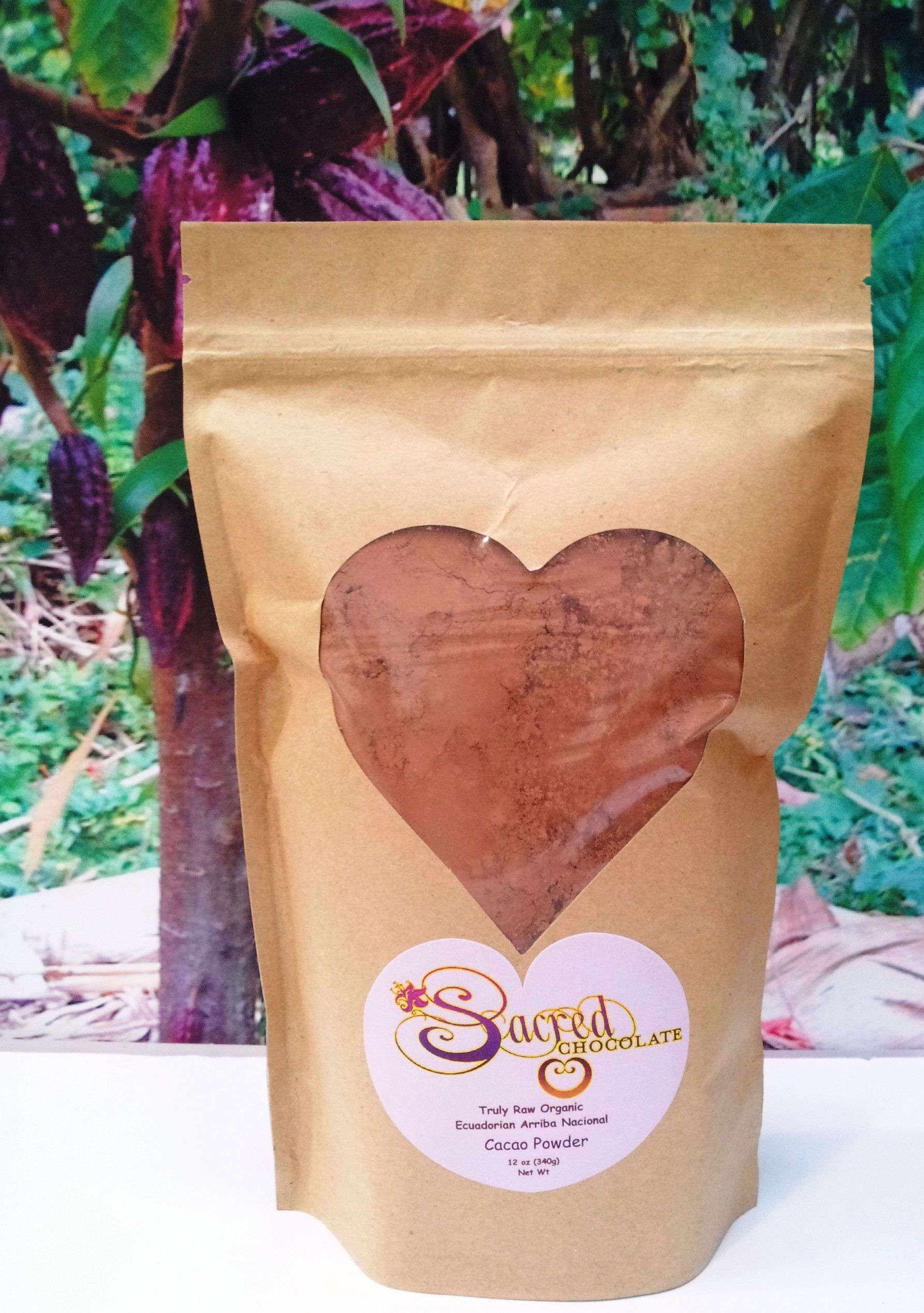 Raw Cacao Powder - Ecuadorian Arribal Nacional