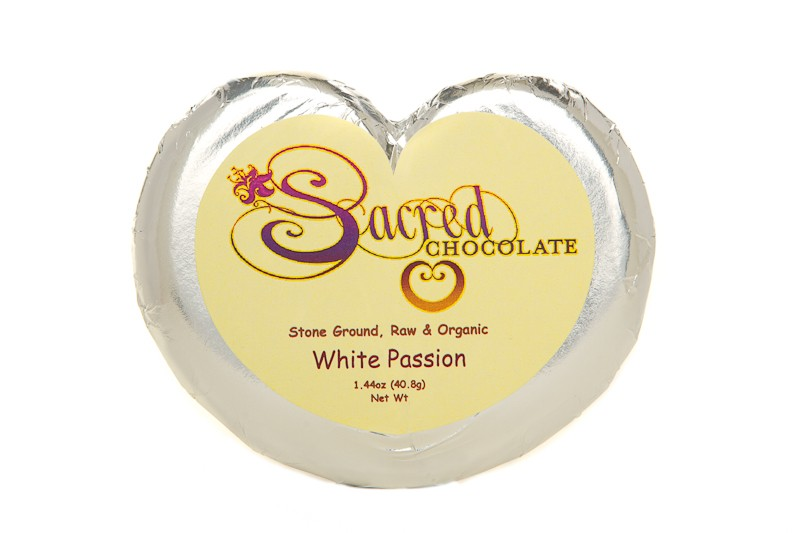 White Passion 1.44oz Heart Bar