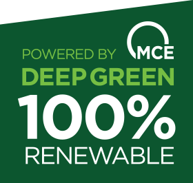 Marin Clean Energy DEEP GREEN 100% Renewable Energy