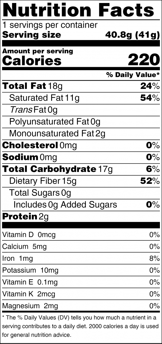 Sun Sweet Nutrition Facts