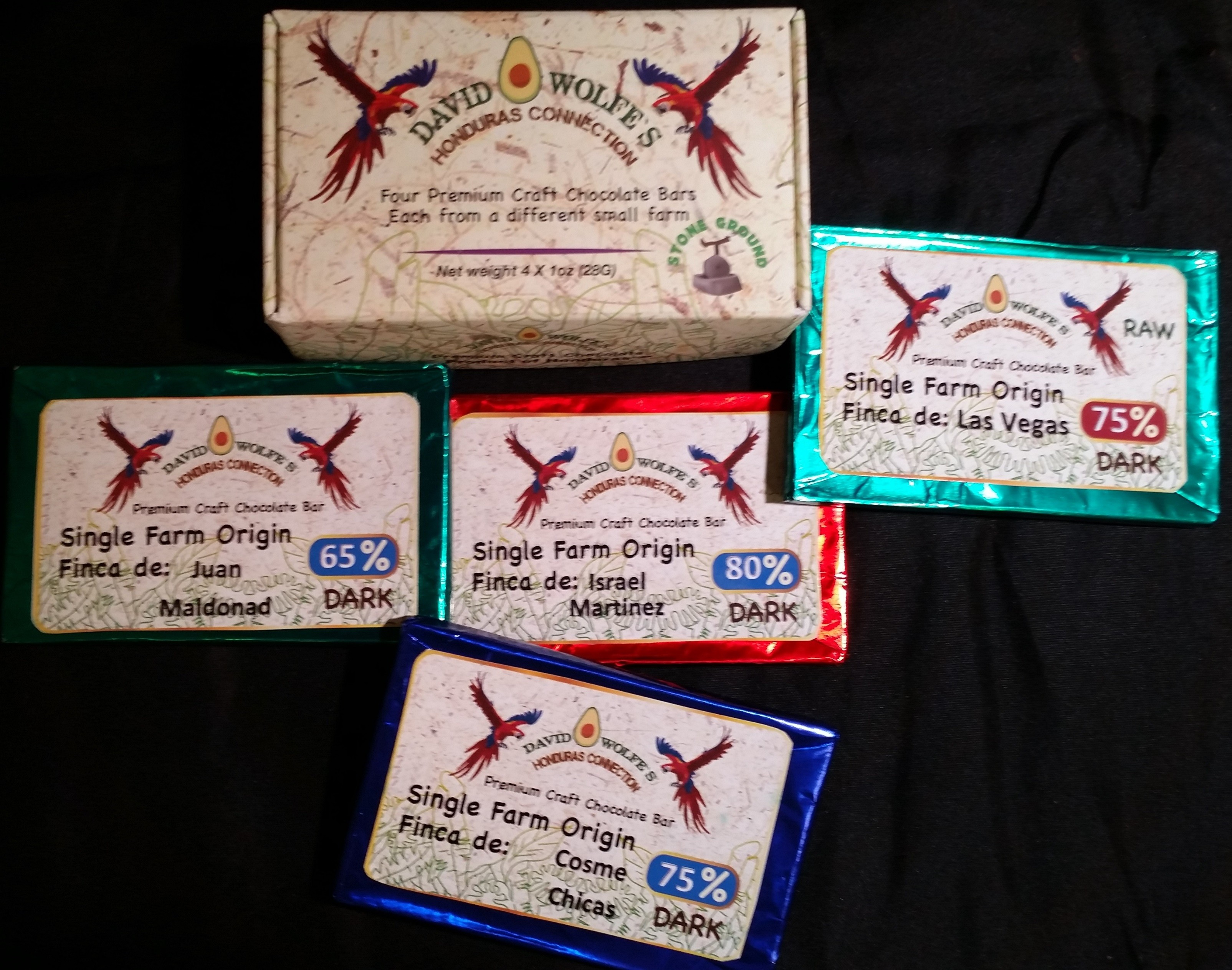 3 x David Wolfe 4 Pack + FREE USPS Priority Shipping