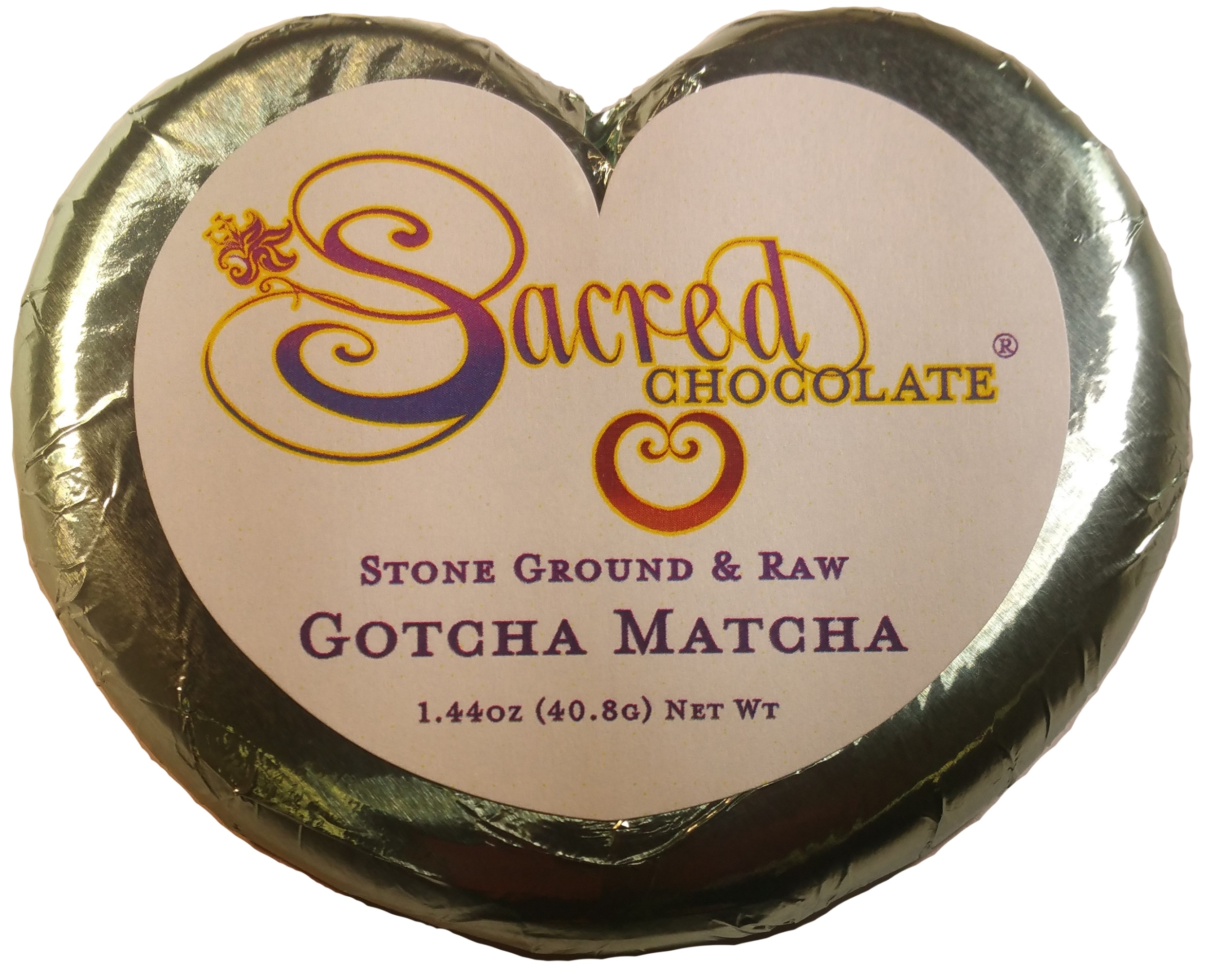 Gotcha Matcha - 1.44oz Heart Bar