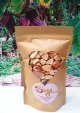 FRUIT PULP COVERED Raw Cacao Beans - Sri Lankan, 100% Organic