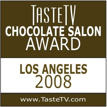LA Luxury Chocolate Salon: Best Organic Chocolate 2008 Honorable Best Dark Chocolate: 2008